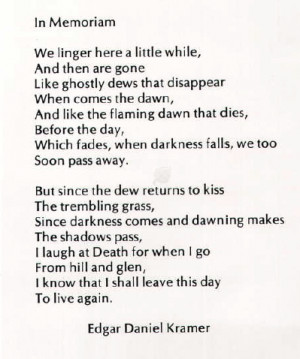 ... to show up anywhere. This poem was printed in a school yearbook