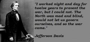 Jefferson davis famous quotes 2