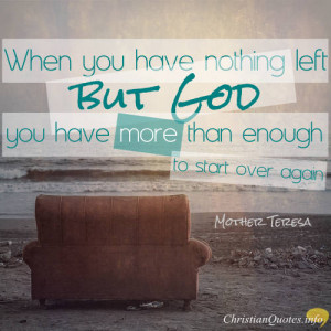 Mother Teresa Christian Quotes