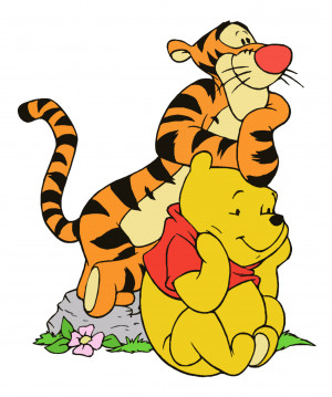 Winnie the Pooh and Tigger by Ripp3r89