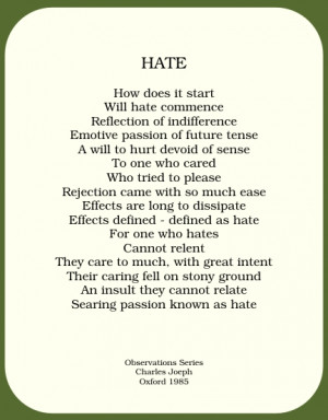 hate poems
