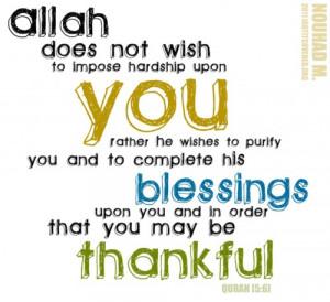 14# Wordless Wednesday: Thank you Allah.