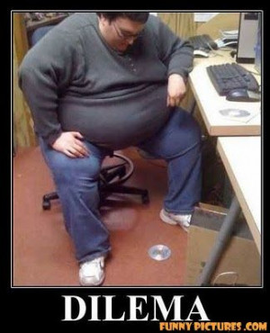 fat guy dilema problem