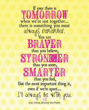 Free Winnie the Pooh Quote Printable {Celebrating the Re-Release of ...