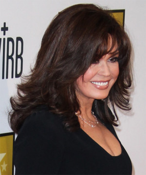 Marie Osmond Hairstyle Side