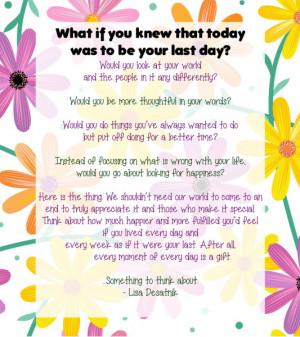 quote about appreciation by Lisa Desatnik