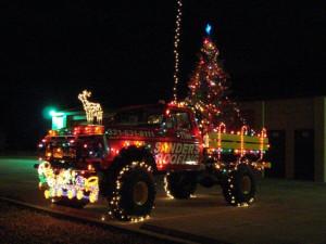 Redneck Christmas Truck Back to Redneck / Back Home