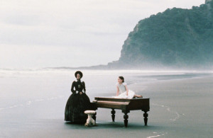 ... Holly Hunter and Anna Paquin in Jane Campion's The Piano (1993