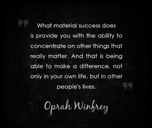 OPRAH : SUCCESS