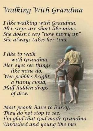Miss My Grandma Poems I love my grandma poems
