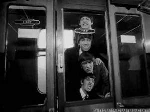 Beatles, funny and black and white pictures