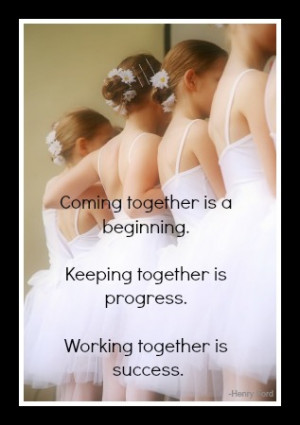 The Process of Teamwork…