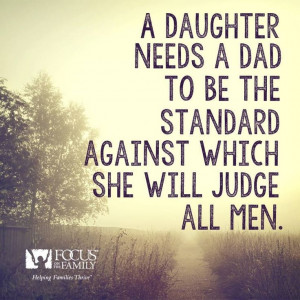 he shows his daughter how men are to treat women the daughter watches ...