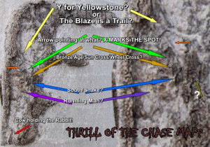The Thrill of Chase Map