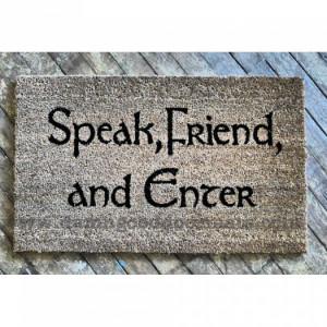 new-lotr-speak-friend-enter-hobbit-tolkien-doormat-etsy.jpg