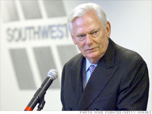 herb kelleher at southwest airlines My name is herb kelleher i co-founded southwest airlines in 1967 because i am unable to perform competently any meaningful function at southwest, our 25,000 employees let me be ceo.