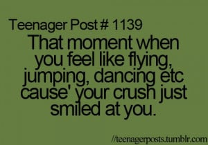 crush, dancing, feeling, flying, funny, jumping, love, teenager post ...