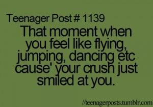 crush, dancing, feeling, flying, funny, jumping, love, teenager post ...