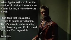 2560x1440 quotes fight club brad pitt atheism Wallpaper HD download