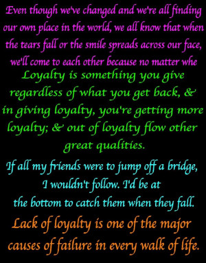 LOYALTY picture by 562bluerose - Photobucket