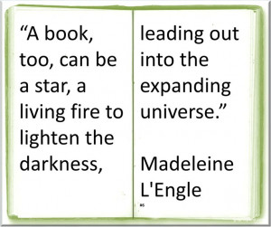 Madeleine L Engle ~ ♥ #Quote #Author #Books ♥