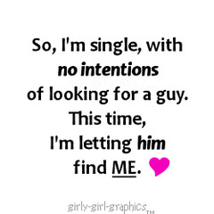 all about me quote and love quote girly girl graphics so i m single ...