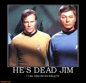 Spock Kirk Mccoy