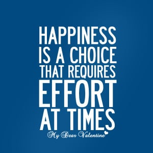 mydearvalentine.comlife quotes - Happiness is a