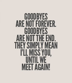 ... Simply Mean L'll Miss You Untill We Meet Again - Missing You Quote
