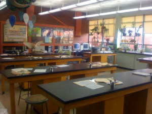 "Pics of biology room scene from ""Twilight"""