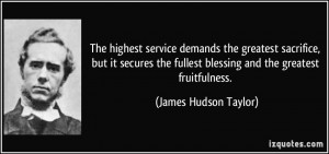 Quotes On Service And Sacrifice