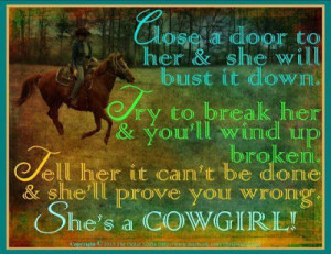cowgirl quotes about life