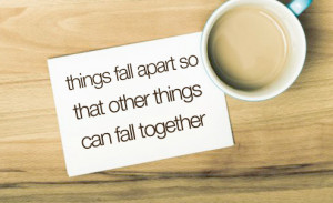 apart, fall, inspirational, quotes, things