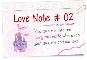 Secret Admirer Notes for Him