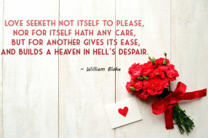 Beautiful Quotes About Love With Red Flowers