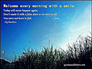 inspirational, quotes, morning, smile, quotes on images