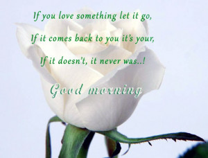 Good Morning My Love Quotes With Images