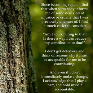 Becoming vegan has definitely had this effect on us, and we appreciate ...