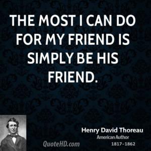 Friendship quotes thoreau 3