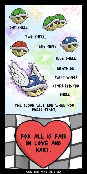 Tags: Mario Kart Wii , poem
