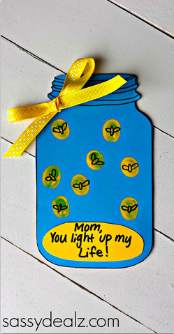 """Firefly """"You Light up my Life"""" Mother's Day Card (Free Printable ..."""