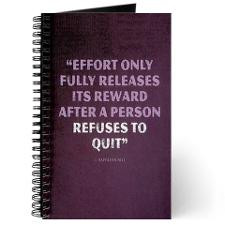 Effort - Motivational Quote Journal for