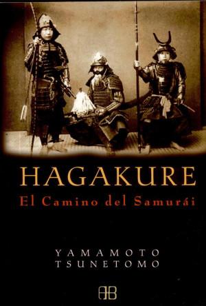 Copertina moderna del libro Hagakure