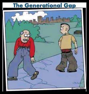 ... Generation GapFashion of different generations – The Generation Gap