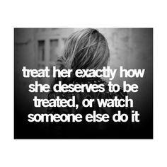 ... spoken... Get it right, gentlemen, or prepare to watch her walk away