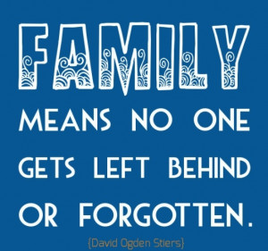 Inspirational Quotes About Love and Family