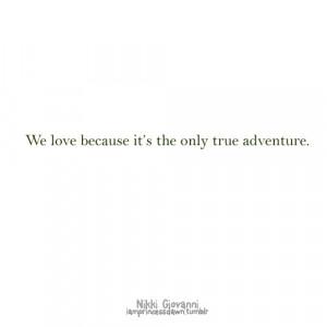 adventure, love, quote, quotes, truth