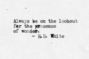 Can I claim EB White as a posthumous Autism Ally? Because I think he ...
