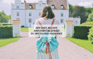 Lost in Sweden, fear, typography, quotes, motivation, map, travel ...
