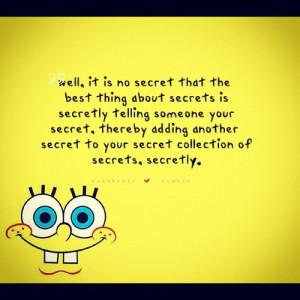 ... up#spongebob#quote#quotes#quoteoftheday#instaquote#yellow#secret